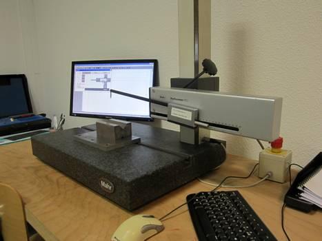 profilomètre machine de caractérisation état de surface
